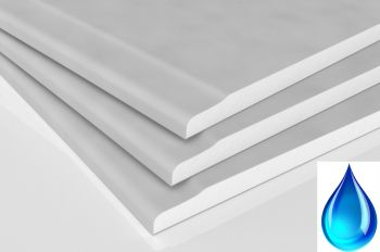 10mm Water Resistant Plasterboard 3600x1200mm