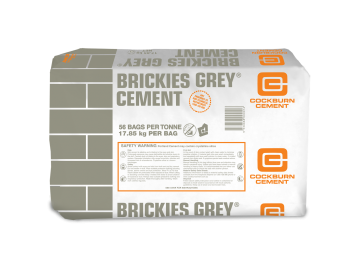 CO Brickies Grey 17.8kg (56/pallet)
