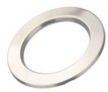 Brushed Chrome Ring Suit 10W Downlights