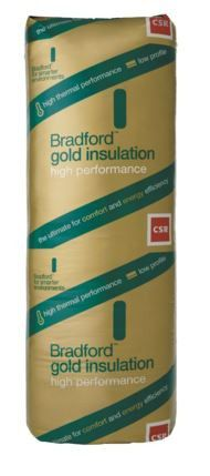 R2.0 CSR Bradford Gold Wall 580mm (12.1m² per pack) 90mm Thickness